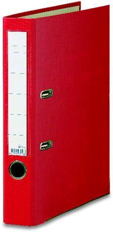 Ordner Color, PP, Einsteckrückenschild, A4, 50 mm, rot