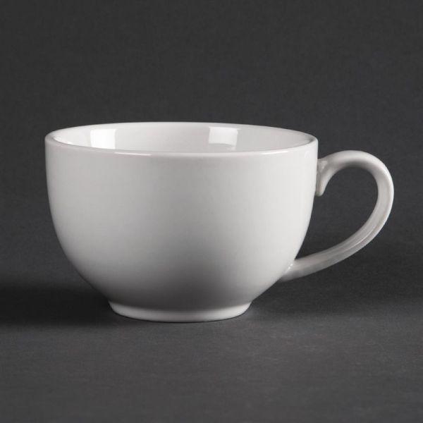 Olympia Whiteware elegante Tassen 23cl; Inhalt: 12 Stück