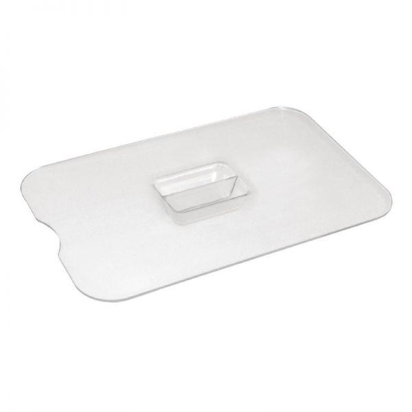 Kristallon Deckel mit Löffelaussparung für 75cl Salatschüsseln