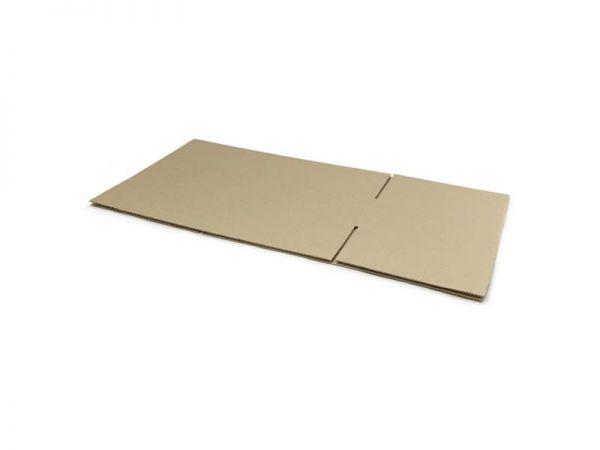60 Stück: 550x250x120 mm einwellige Kartons