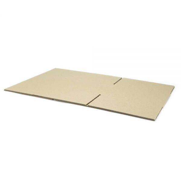 20 Stück: 400x250x150 mm einwellige Kartons