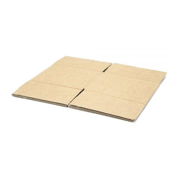 20 Stück: 140x140x100 mm einwellige Kartons