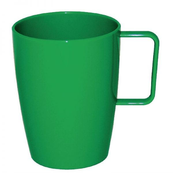 Kristallon Henkelbecher grün 28,4cl; Inhalt: 12 Stück