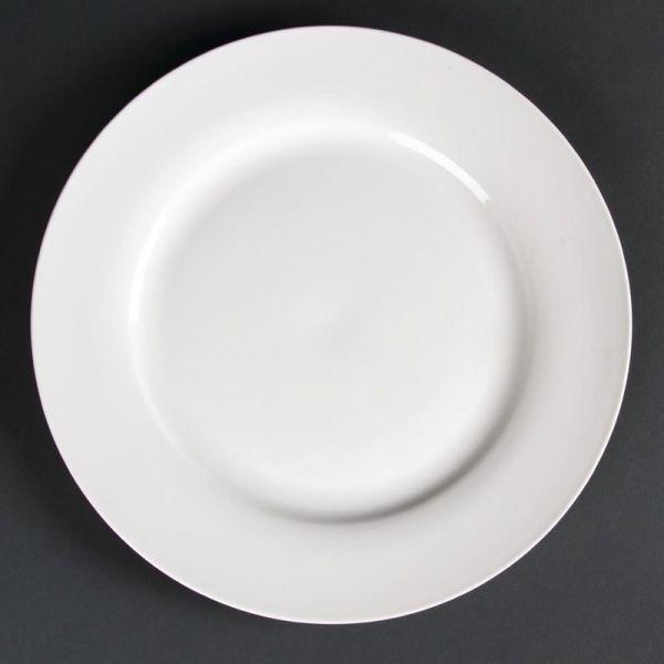 Lumina runde Teller mit breitem Rand 27cm