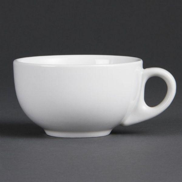 Olympia Whiteware Cappuccinotassen 20cl; Inhalt: 12 Stück