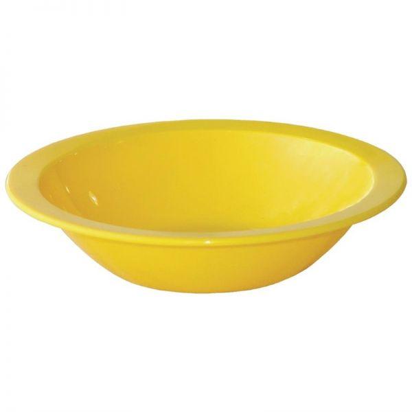 Kristallon Dessertschalen gelb 17cm