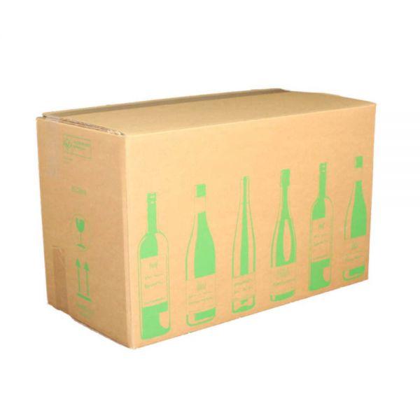 150 Stück: 628x305x368 mm 18er Flaschenkarton ECOLINE