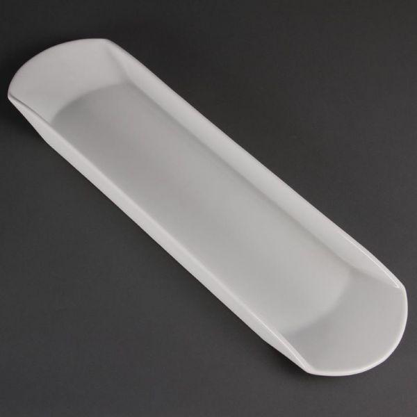 Olympia Whiteware reckteckige Snackschale 56cm