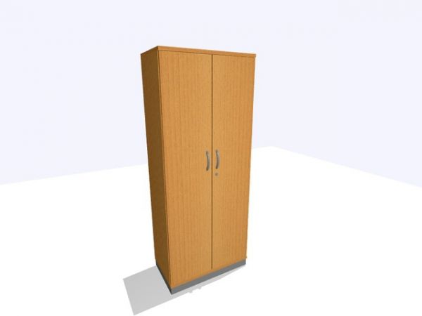 Aktenschrank, 800x450x1.980mm, 5OH, buche