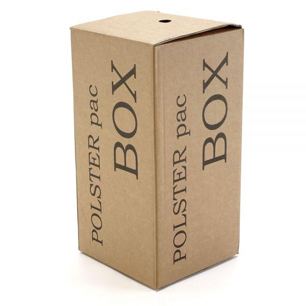 POLSTER pac Box, mobile Spendebox mit umweltfreundlichem Packpapier