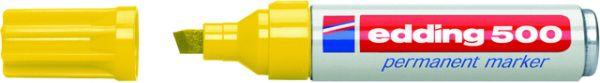 Permanentmarker 500, Keilspitze, 2 - 7 mm, Schreibf.: gelb