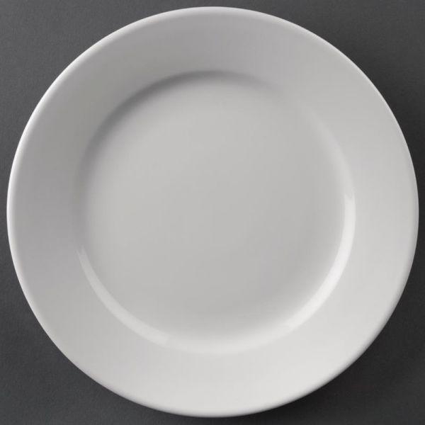 Athena Hotelware runde Teller mit breitem Rand 20,2cm; Inhalt: 12 Stück
