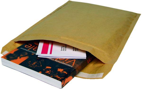 Papierpolstertasche, hk, Typ: D, i: 175x265mm, braun