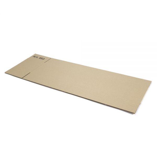 20 Stück: 700x150x150 mm einwellige Kartons