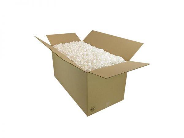 215 Liter Verpackungschips weiß im Karton