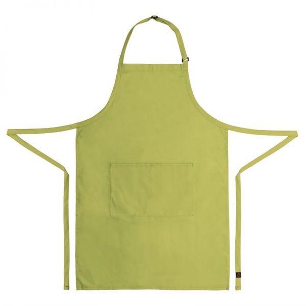 Chef Works verstellbare Latzschürze hellgrün