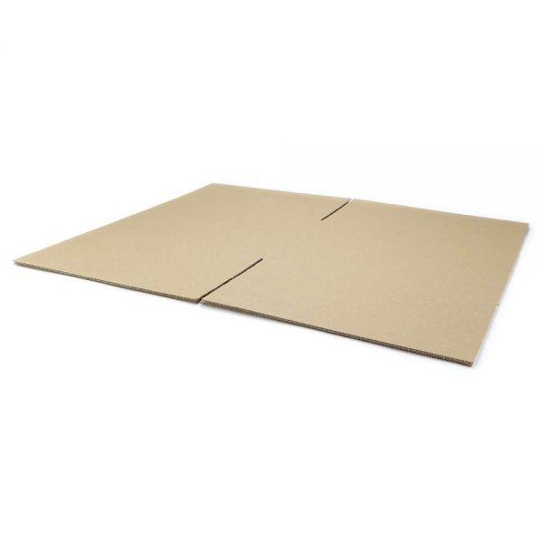 20 Stück: 400x400x240 mm einwellige Kartons