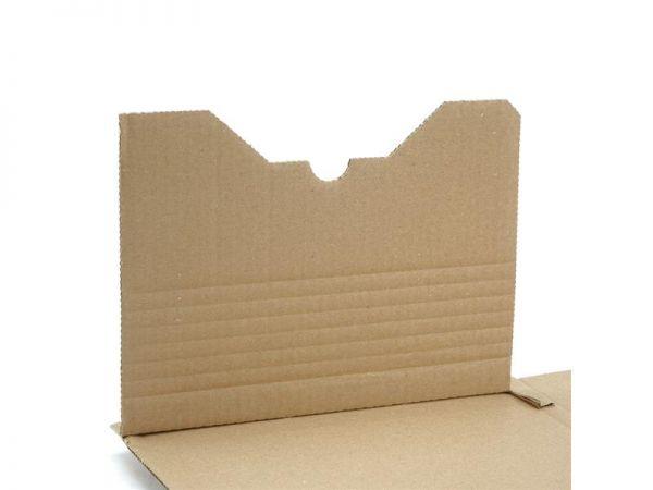 25 Stück: 305x230x0-92 mm A4 Buchverpackung