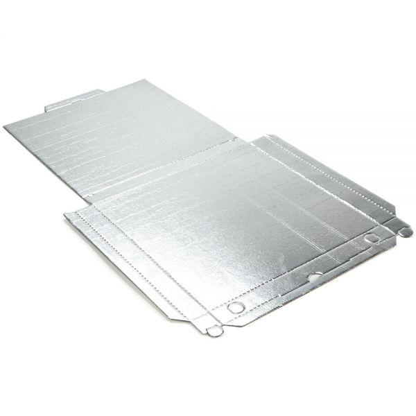"""150 Stück: 320x320x30 mm Pizzakarton """"C"""" alukaschiert, weiß"""