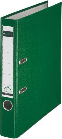 Ordner Plastik, PP-kasch., Einsteckrückenschild, A4, 52mm, grün
