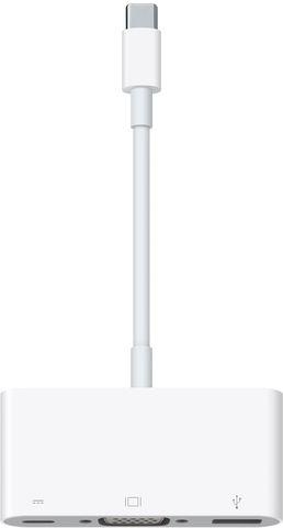 Adapter USB-C-VGA-Multiport, weiß
