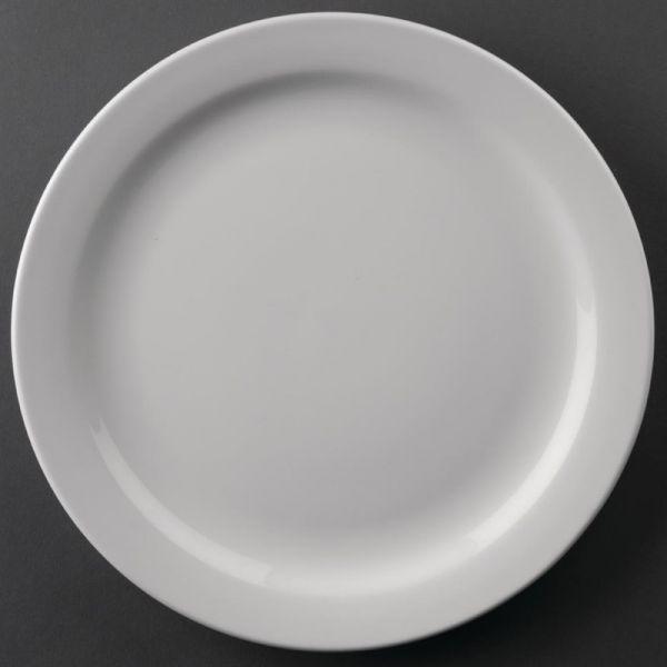 Athena Hotelware runde Teller mit schmalem Rand 22,6cm; Inhalt: 12 Stück