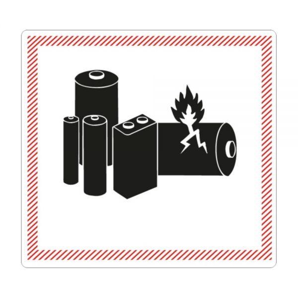 """500 Stück Gefahrgut-Kennzeichnung """"Lithium ion/metal battery"""""""