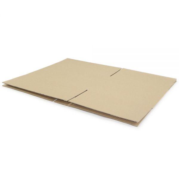 10 Stück: 500x400x300 mm einwellige Kartons