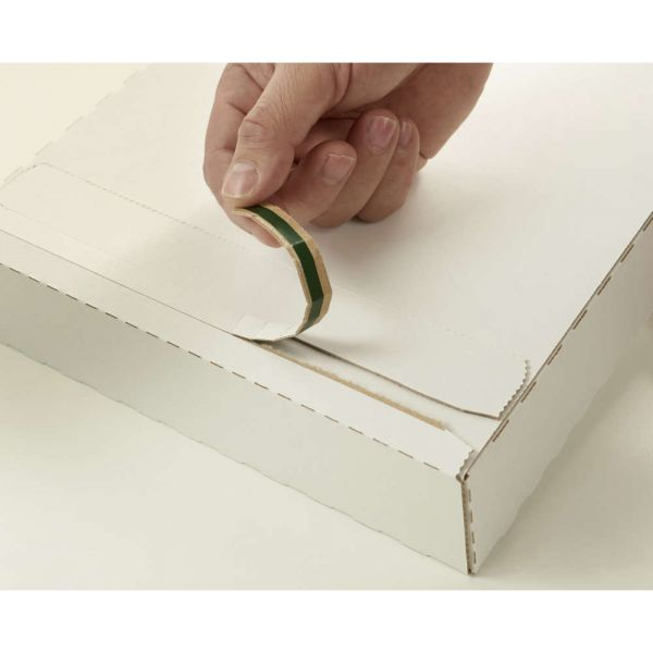 100 Stück: 345x245x15 mm Briefbox Premium, weiß