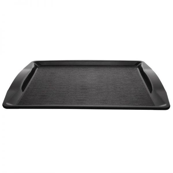Kristallon Fast-Food-Tablett schwarz 42 x 30,5cm