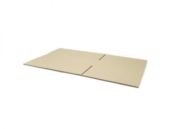 20 Stück: 420x300x120 mm einwellige Kartons