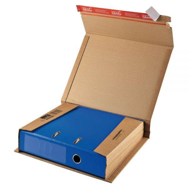 20 Stück: 320x290x35-80 mm Ordner-Verpackung