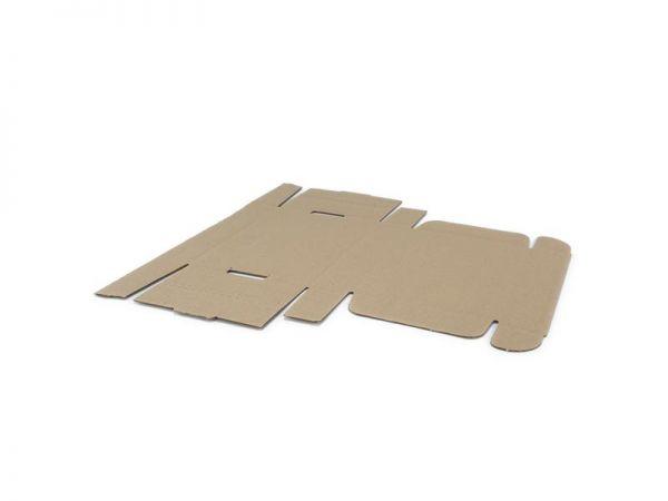 10 Stück: 240x170x50 mm einwellige Faltschachtel
