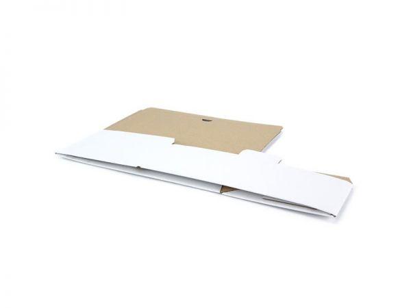 20 Stück: 316x172x108 mm Automatik-Karton, weiß