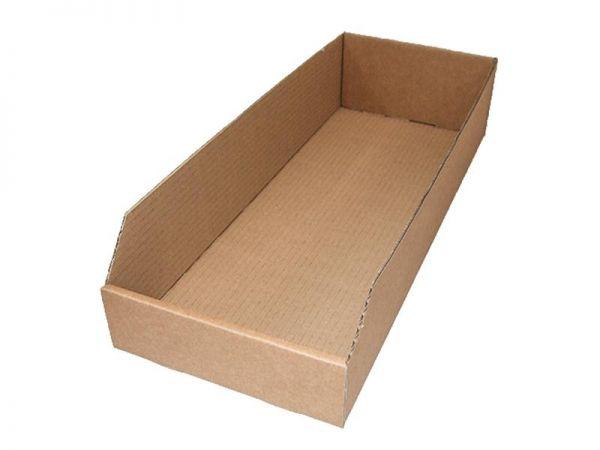 10 Stück: 500x200x100 mm Regalkarton (Außenmaß)