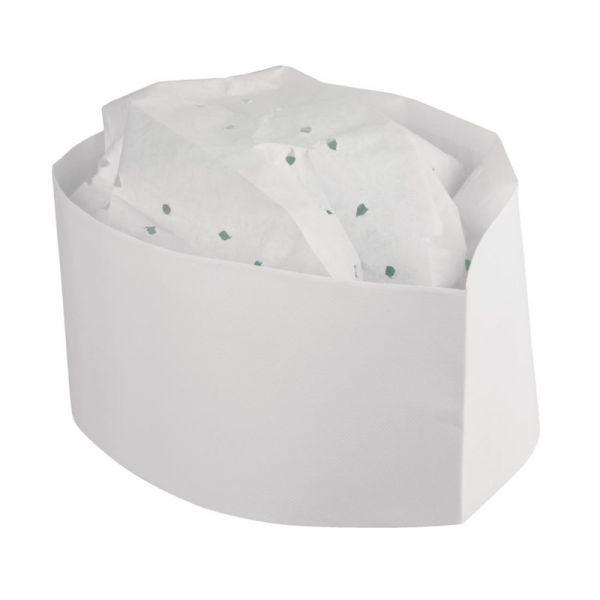 Plastico Einweg-Kochmütze Papier Schiffchen; Inhalt: 100 Stück