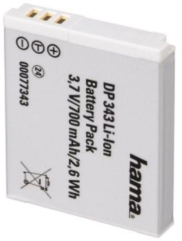 Akku DP 343, Lithium-Ion, 3,7 V, 700 mAh