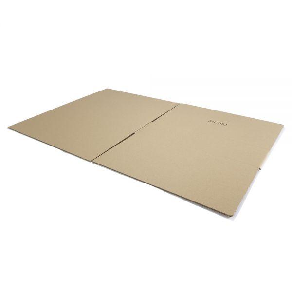 10 Stück: 600x600x150 mm einwellige Kartons