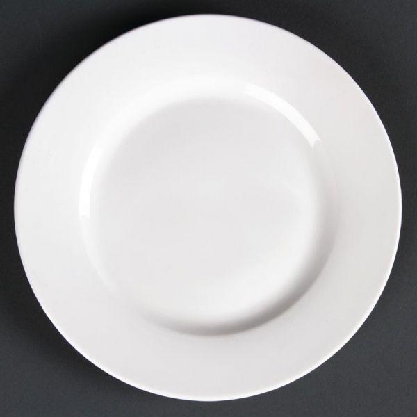 Lumina runde Teller mit breitem Rand 17,5cm; Inhalt: 6 Stück