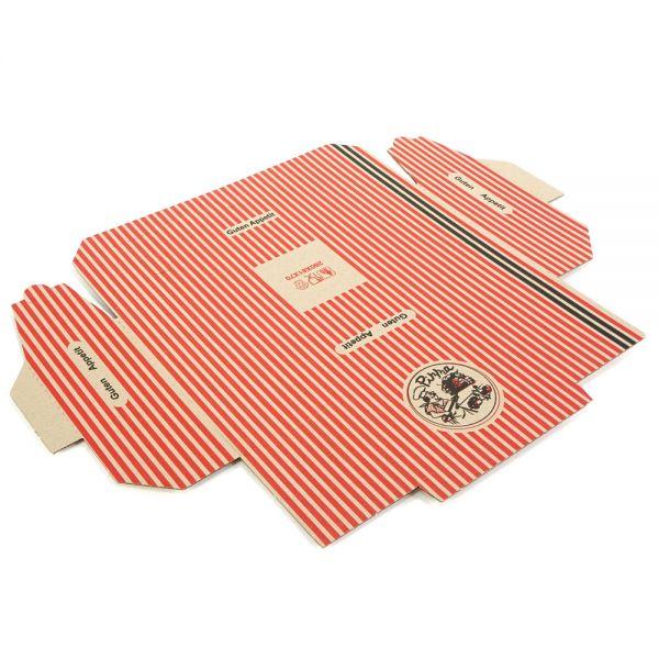 200 Stück: 280x80x70 mm Pizzakarton (Rollo)
