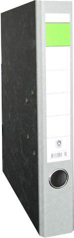 Ordner, Wolkenmarm.(RC), SK-Rü.sch., m.Griffloch, A4, 50mm, grau