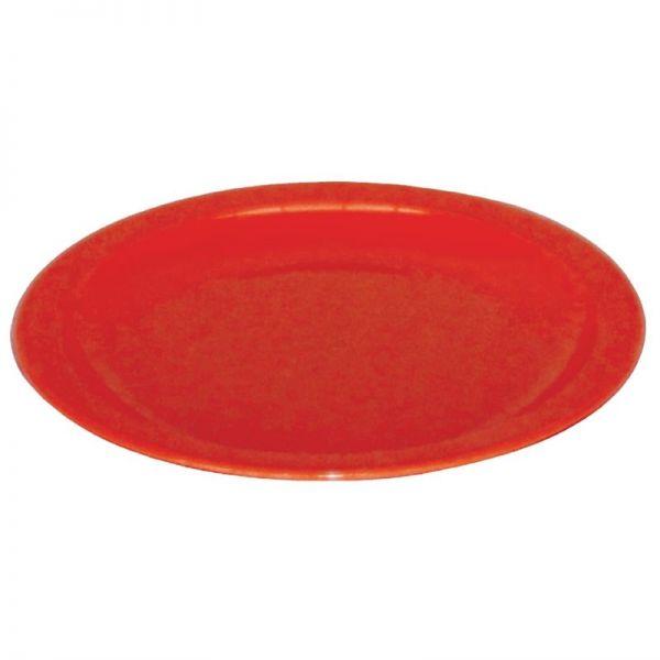 Kristallon Teller rot 17,2cm; Inhalt: 12 Stück