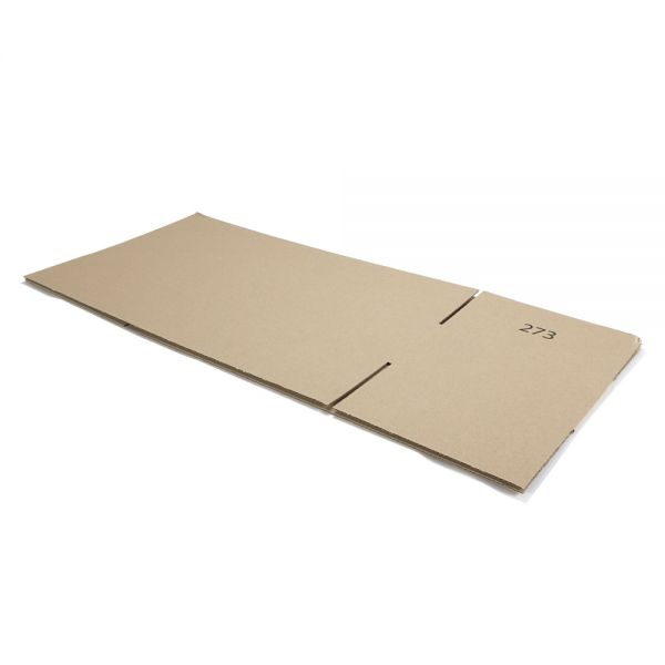 10 Stück: 750x300x150 mm einwellige Kartons