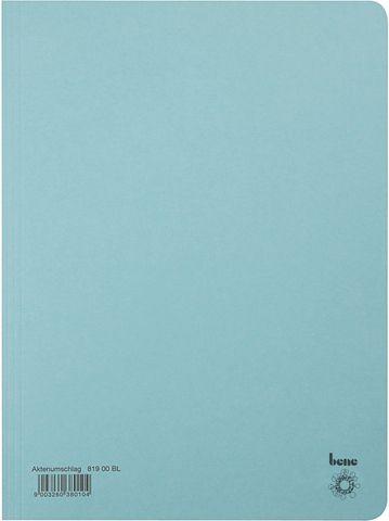 Aktendeckel, Karton (RC), 250 g/m², A4, 23,5 x 32 cm, blau