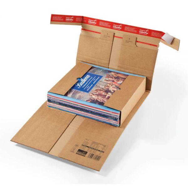 20 Stück: 320x320x0-60 mm Medienverpackung LPs
