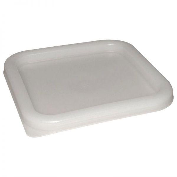 Vogue Deckel quadratisch für Vorratsbehälter 10 und 15L weiß