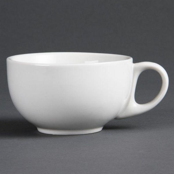 Olympia Whiteware Cappuccinotassen 28,4cl; Inhalt: 12 Stück