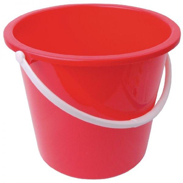 Jantex Kunststoffeimer rot 10L