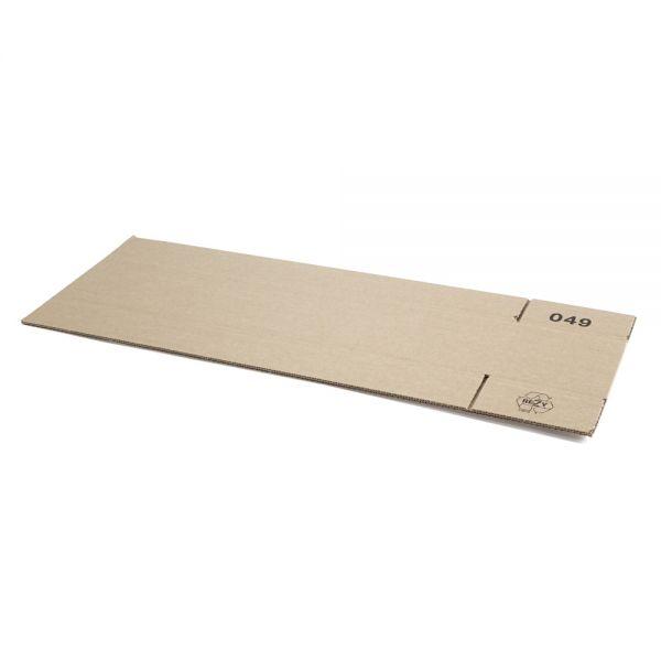 20 Stück: 600x130x130 mm einwellige Kartons