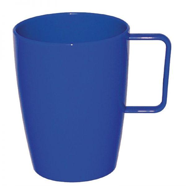 Kristallon Henkelbecher blau 28,4cl; Inhalt: 12 Stück